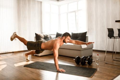 Leg Muscles Exercise Raise