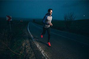 a good jog at night
