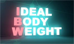 What should my goal weight be? The ideal body weight I need to achieve.